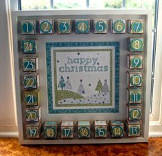 Julie Kettlewell - Stampin Up UK Independent Demonstrator - Order products Paper Haven Retreat Day Three - Project One Stampin Up Christmas, Christmas Crafts, Christmas Paper, Christmas 2015, 12 Days Of Xmas, Paper Christmas Decorations, Sweet 16 Invitations, Invitation Cards, Party Invitations