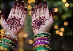 New Mehndi Designs for Eid Day For Young Girls. Here are some of these new Mehndi designs which are specially made for the occasion of Eid. Eid Mehndi Designs, Eid Special Mehndi Design, Circle Mehndi Designs, Round Mehndi Design, Mehndi Designs For Girls, New Bridal Mehndi Designs, Henna Designs Easy, Beautiful Mehndi Design, Latest Mehndi Designs