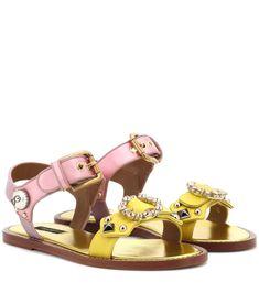 Dolce & Gabbana, Cute Sandals, Shoes Sandals, Gladiator Sandals, Leather Sandals, Mary Jane Shoes, Palm Beach Sandals, Vintage Girls, Valentino Garavani