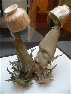 I like! A ceramic piece by Tsang Cheung Shing
