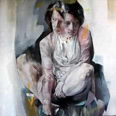 """""""I could be who you wanted"""" - 100cm x 100cm - Oil on canvas - Benjamin García"""