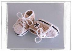 Handmade Crochet Baby Shoes Crocheting Baby Shoes by MiniBeeBee, $6.28