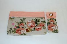 Cosmetic case and eye glasses Cover Set