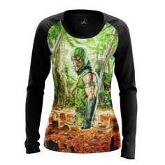 cool Girls Longsleeve Green Arrow Gifts Merchandise Collectibles