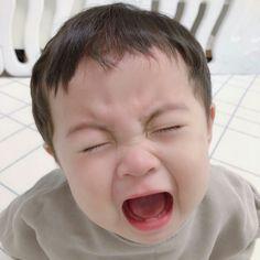 Cute Baby Meme, Baby Memes, Cute Baby Boy, Cute Little Baby, Cute Kids, Cute Chinese Baby, Chinese Babies, Cute Asian Babies, Korean Babies