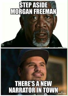 If you haven't seen Ant-Man yet, please rush out to the theater and do so, if only for the guy below Morgan Freeman.