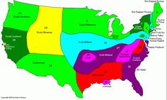 What dialect do you speak? A map of American English Dialect Language Study, Teaching Language Arts, Teaching English, English Language, English Grammar, Us History, American History, History Major, Ap Human Geography