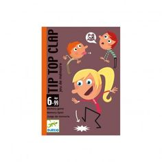 Djeco Playing Cards Tip Top Clap `One size Details : Memorise the noises and the mimes in the correct order, Memory, 15 minutes * From 2 to 5 years old * Age : Age 6 and upwards * Number of cards : 32 * Box 12 cm x 8 cm x 3 cm http://www.MightGet.com/january-2017-13/djeco-playing-cards-tip-top-clap-one-size.asp