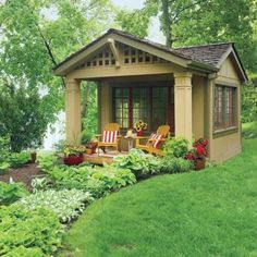 Cottage-Style Shed Redo