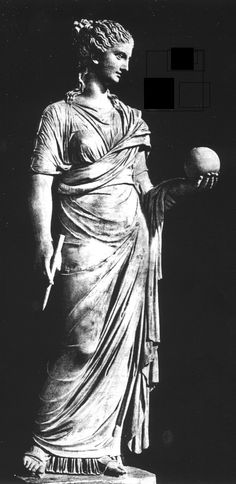 """Anonymous, """"Urania, Muse of Astronomy"""" Unknown Plaster Vatican Museums and Galleries, Vatican"""