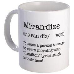 Mirandize Hamilton Mug Mugs - Lin-Manuel Miranda <3