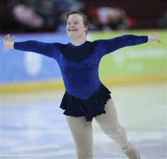 Special Olympics Great Britain down syndrome figure skating