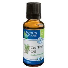 Earth's Care Essential Oil - 100 Percent Pure - Austr Tea Tree - 1 Fl Oz