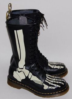 Doc Martens - do they make one with a titanium nail through the bone? Lol