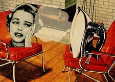 Blow Off Some Steam - collage art by Errin Ironside | Art ...
