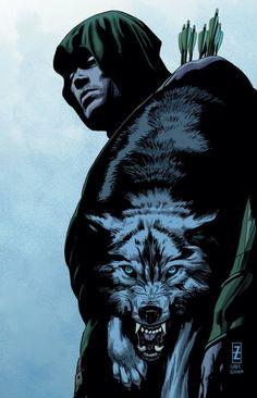 Green Arrow #44 by Patrick Zircher *