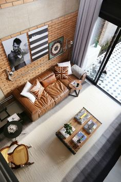 Casinha colorida: Uma casa em estilo loft