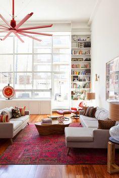 我們看到了。我們是生活@家。: 紐約室內設計師Maria Gabriela Brito以當代藝術,讓家更有活力!