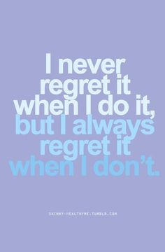 Never regret❤️