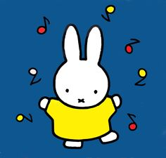 Nijntje by Dick Bruna Book Cover Design, Book Design, Three Primary Colors, Baby Posters, Bookshelves Kids, Miffy, Christmas Coloring Pages, Line Friends, Cute Illustration