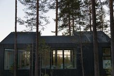 This cabin is the latest addition to Treehotel, a boutique hotel located in a pine forest in Swedish Lapland. Set up by Kent Lindvall and his wife Britta in the business already has six themed treehouse suites designed by Scandinavian architects. Timber Cabin, Timber Wood, Light Architecture, Residential Architecture, Scandinavian Cabin, Scandinavian Design, Treehouse Cabins, Old Garage, Getaway Cabins