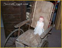 Haunted items (doll & wheelchair of drowned girl) sold at auction!