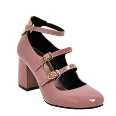 54b8024ce91 Agodor Women s Mid Chunky Heel Mary Janes Pumps With Strap Cute Bowtie  Closed Toe Girl…