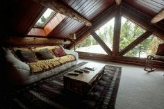Attic room - maybe hang out and see rainy days and starry nights?