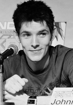 Merlin BBC // Colin Morgan at London Expo May 29th 2010. [Image 3 of 4]