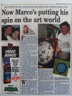 The Express newspaper article Andy Shaw art www.saatchiart.com/andyshawart www.etsy.com/shop/AndyShawArt