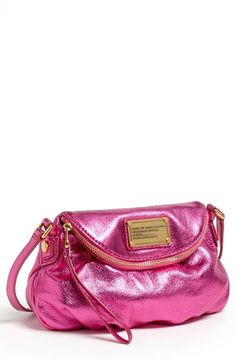 Pink, Metallic MARC BY MARC JACOBS Crossbody Bag