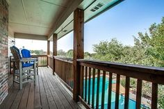 upstairs balcony Staged by Vickie Harvey - Home Staging Services of North Tx