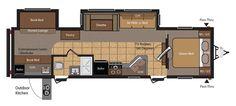 Keystone RV 31RBDS floorplan