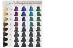 Goldwell Elumen Color Chart Part 5
