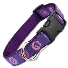 Finally, a pretty purple floral dog collar for those that love purple! Puppy Collars, Flower Dog, Purple Flowers, Puppies, Dogs, Accessories, Image Link, Amazon, Medium