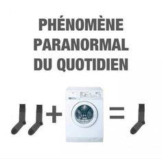 Les mystérieuses disparitions des chaussettes .... #drole #humour #mdr // www.drolementvotre.com