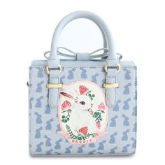 2016 Hot Sale Bow Rabbit Animal Printing Small High Quality Mori Lady Faux Leather PU For Women's Handbags Totes Crossbody Bag