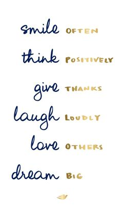 How to create your own happiness:1. Smile to release endorphins2. Replace negative thoughts with positive ones3. Practice gratitude4. Laugh with friends5. Express your love6. Go after your goals