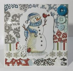 We have a great returning sponsor at Tuesday Morning Sketches - Stitchy Bear Digital Outlet. Tuesday Morning, Good Morning, Christmas Cards, Sketches, Bear, Good Day, Xmas Cards, Buen Dia, Bonjour