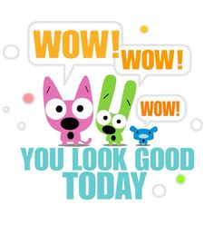 Hoops and Yoyo Friday you look good today Hoops And Yoyo, Wednesday Greetings, Weekend Quotes, Snoopy Love, Free Cartoons, Funny Bunnies, Cartoon Pics, Grumpy Cat, Birthday Quotes