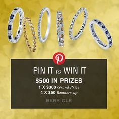 Enter #BerriclePinToWin for $500 in prizes! Enter page >> http://www.berricle.com/giveaway?utm_source=pinterest&utm_medium=organic&utm_campaign=giveaway