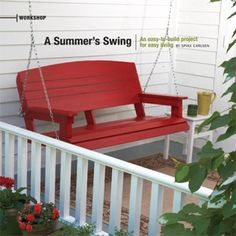 Build a Wooden Porch Swing With These Free Plans: Porch Swing Plan from Skil