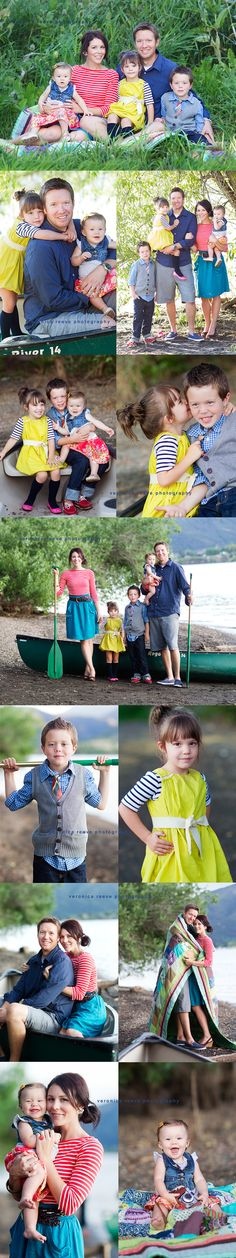 love the Colors in this Cute family session.