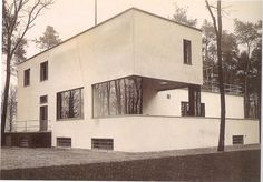Walter Gropius house.