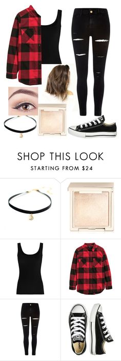"""Outfit #28"" by unicornicamitha on Polyvore featuring Jouer, Twenty, River Island and Converse"