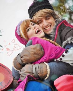 Anna and Kristoff | Frozen