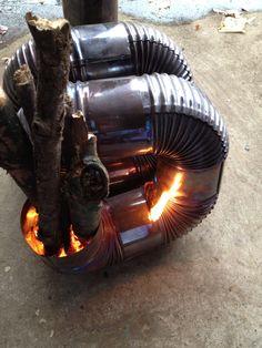 久々のロケットストーブ | 焚き火とバーボン