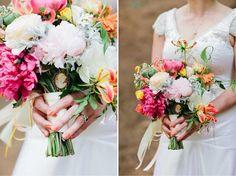Paleta de cores para casamento: Laranja, amarelo, rosa e verde | http://www.blogdocasamento.com.br/paleta-de-cores-laranja-amarelo-rosa-e-verde/