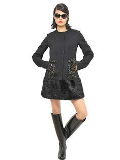 Get Marni dress as seen on Taylor Schilling @Sirius XM Radio |