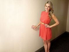 Cinch Waist Printed Dress from Ali Fedotowsky on OpenSky :}}